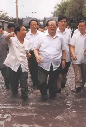 我国江淮流域、安徽等地发生水灾