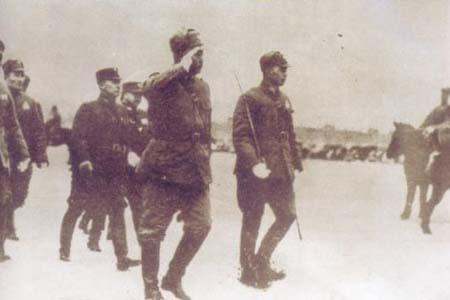 中日军队在永定门外发生冲突