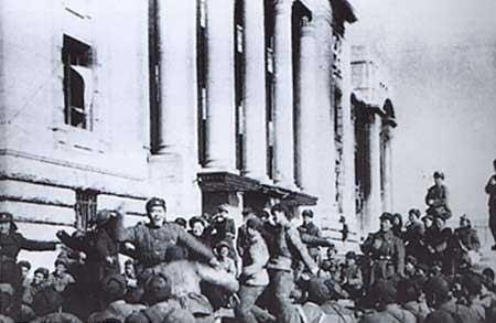 中朝军队占领汉城