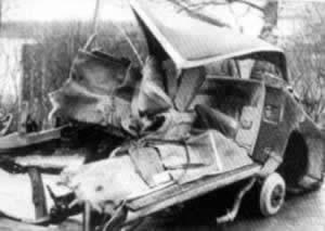 法国作家加缪在车祸中丧生