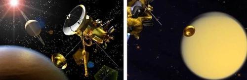 惠更斯号进入土卫六大气层 成功登陆