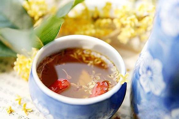 中秋节的习俗 饮桂花酒