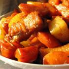 胡萝卜炒雉鸡肉